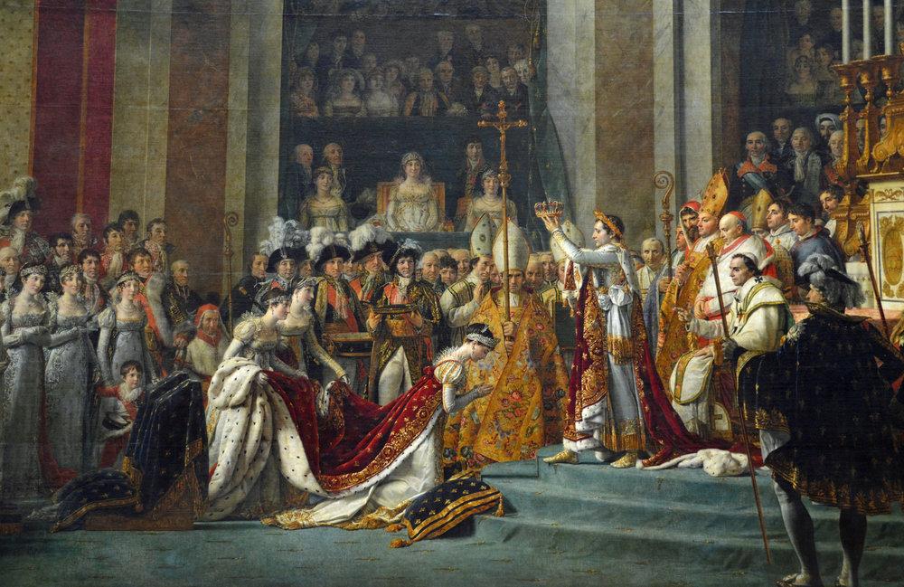 Жак-Луи Давид - Коронация Наполеона в соборе Нотр-Дам 2 декабря ...