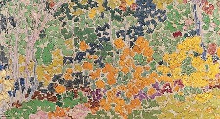 Augusto Giacometti, somptuosité de la couleur - Le Temps