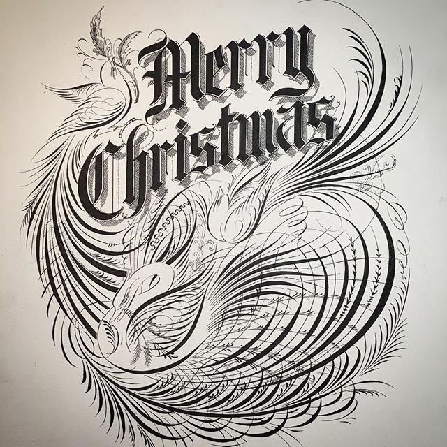 Уникальная живопись и каллиграфия Джейка Вайдмана
