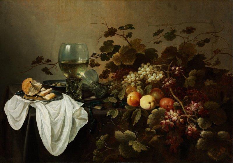 Питер Клас (нидерл. Pieter Claesz (ок. 1597, Берхем — 1 января 1661, Харлем) — голландский художник, мастер натюрморта. Натюрморт с фруктами