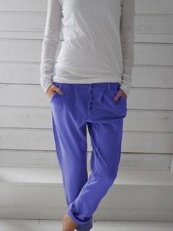 Unicolore Cordon de Serrage Décontracté Lin Pantalons Femmes Pantalons