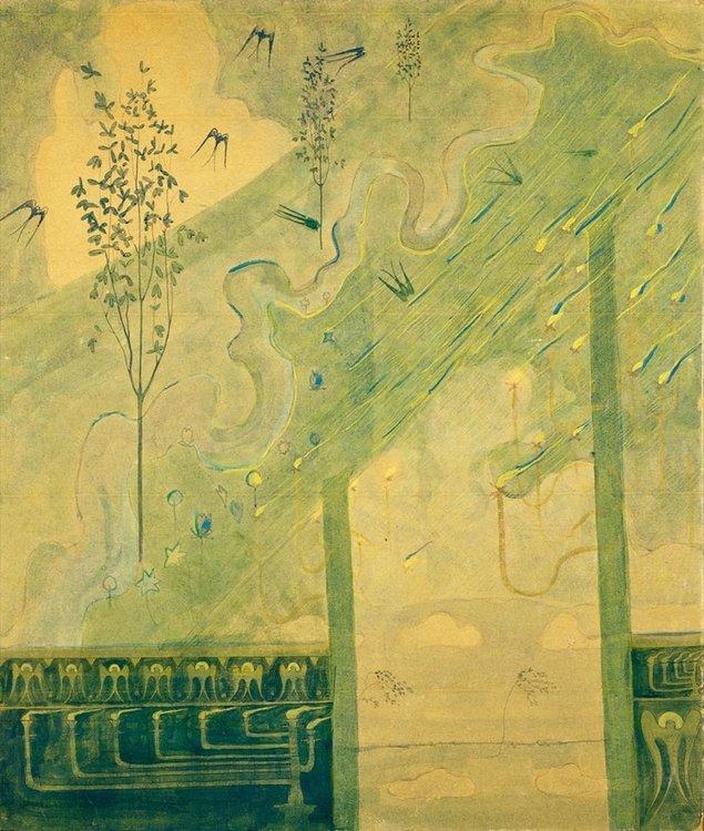 Музыка на мольберте. Микалоюс Константинас Чюрлёнис — литовский художник и композитор, фото № 16