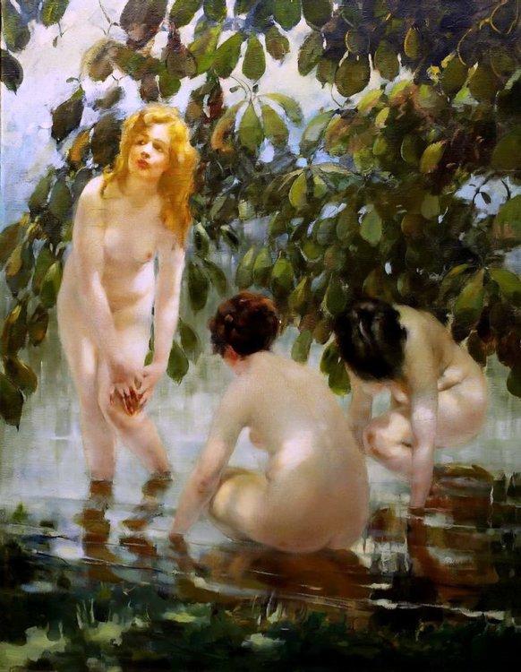 Образ прекрасных женщин в картинах великих художников, фото № 48