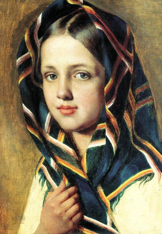 Образ прекрасных женщин в картинах великих художников, фото № 23