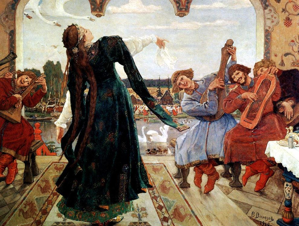 «В гостях у сказки» сказочные персонажи на полотнах художников Васнецова и Билибина, фото № 10