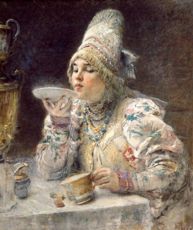 Образ прекрасных женщин в картинах великих художников, фото № 32