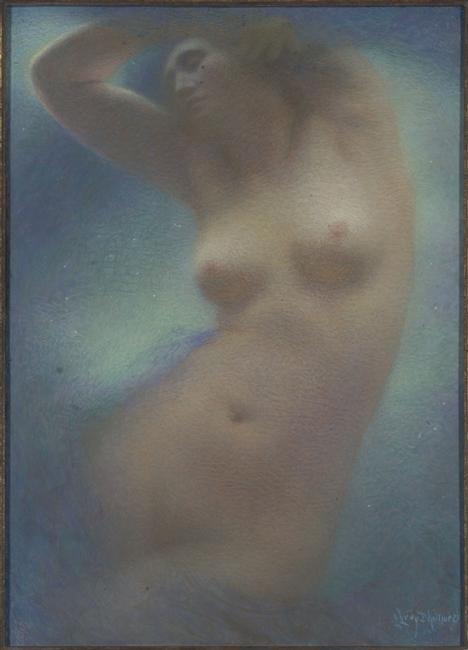 Morceau choisi #139 Lucien Lévy-Dhurmer, Sonate au clair de lune ...