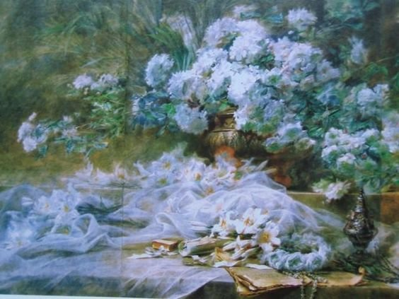 aquarelles de blanche odin   Blanche ODIN, aquarelliste du 20 ème siècle   À Découvrir