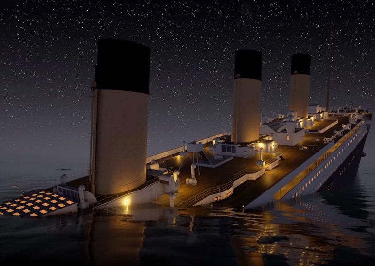 Без Ди Каприо, Кэмерона и претензии на «Оскар»: в 160-минутном ролике  показано затопление «Титаника» в реальном времени - ITC.ua