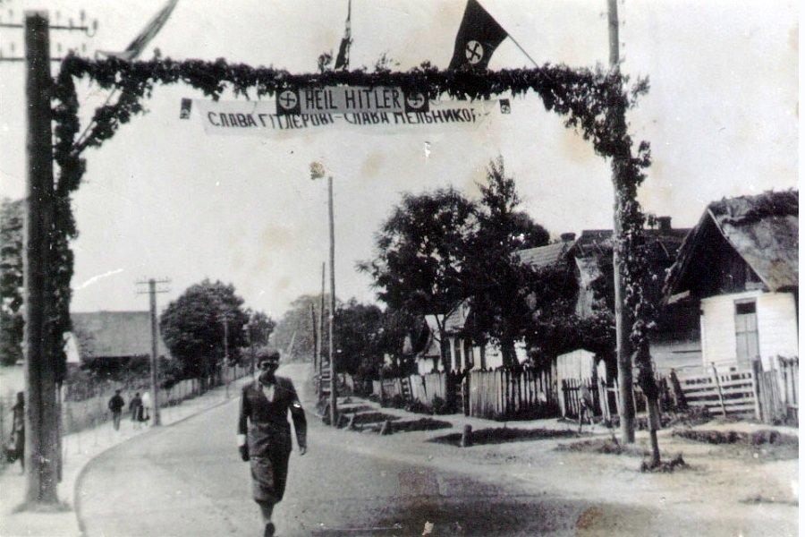 """Résultat de recherche d'images pour """"Слава Гитлеру – Слава Мельнику"""""""