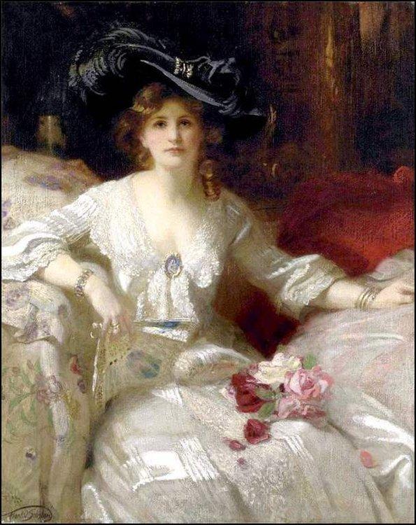 Femmes à chapeau par les grands peintres (135) - Balades comtoises