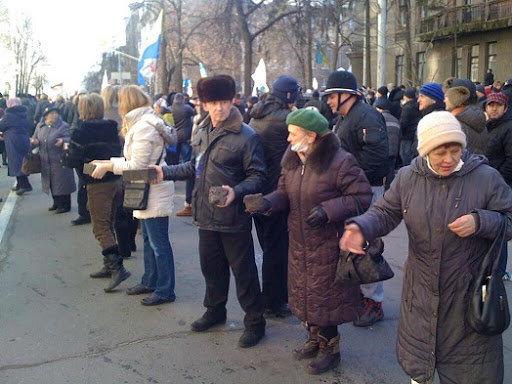 """Поздравляю всех пенсионеров Украины с перемогой..."""""""