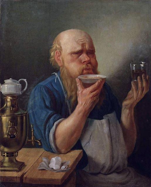 На изображении может находиться: 1 человек, сидит, напиток и в помещении