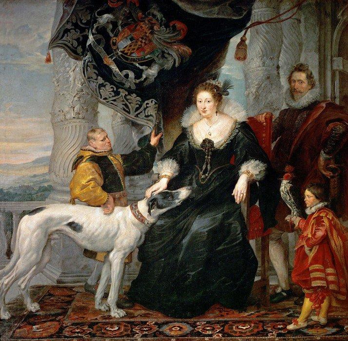Алатея Телбот, графиня Шрусбери. Питер Пауль Рубенс