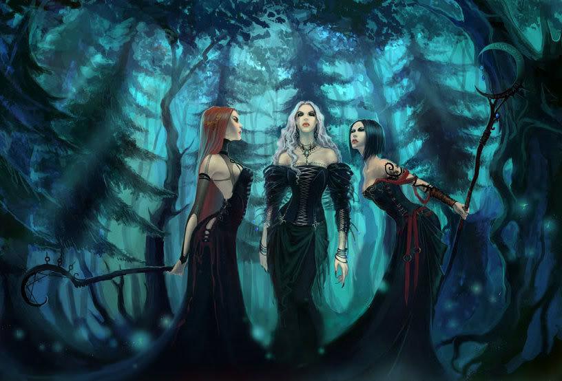 Вальпургиева ночь.... слетались ведьмы на шабаш...