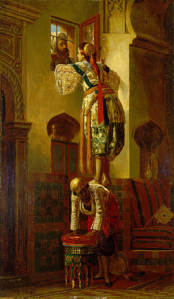 File:Jean Léon Gérôme - The Tryst (interior).jpg - Wikimedia Commons