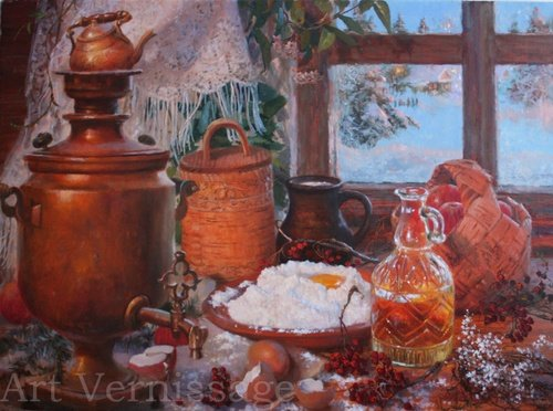 Рождественское настроение картина В.Ю.Жданова