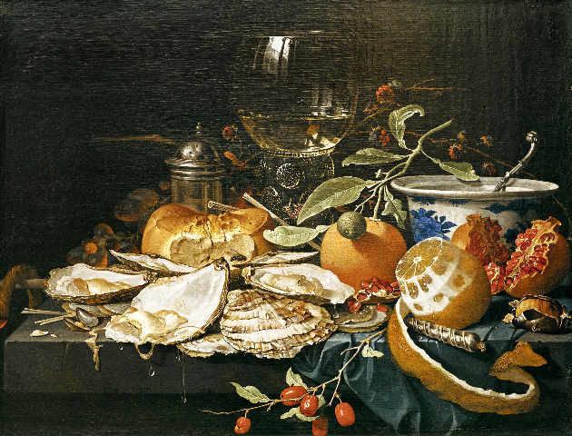 Abraham Mignon: Still Life with Fruit and Goblett. Art Print ...