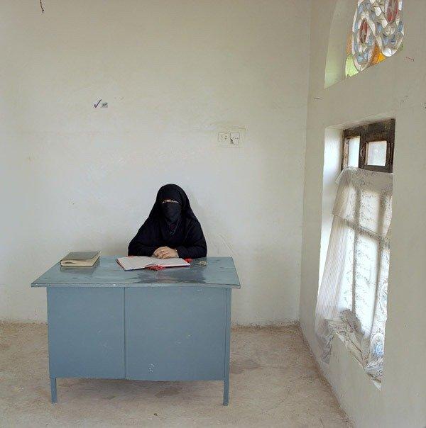 Сотрудник образовательного центра для женщин из сельских районов, Йемен